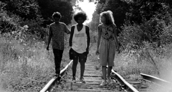 Kids Walking On Tracks Nico-Rockwell, Nico-Lana-Rockwell-Billie-Jabari-Watkins-Malik-Lasse-