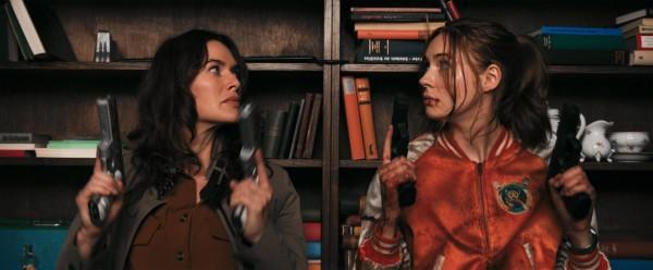 Lena Headey (Scarlet), Karen Gillan (Sam)