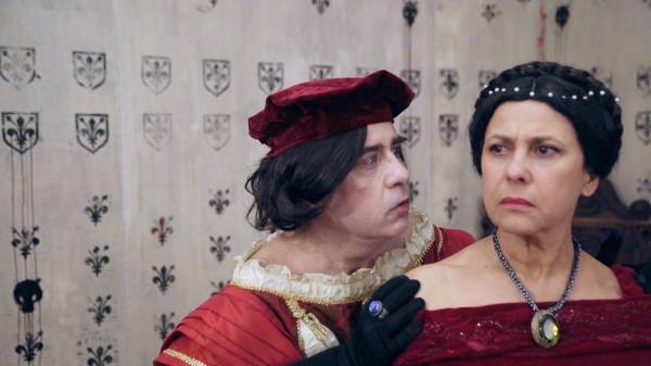 Noël Herpe (Acteur), Jézabel Carpi (La Reine)
