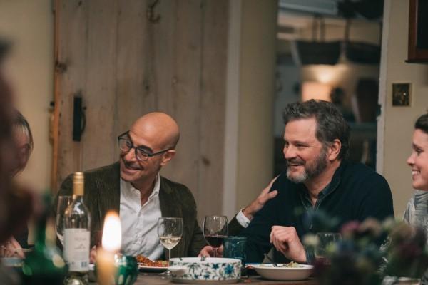 Stanley Tucci (Tusker), Colin Firth (Sam)