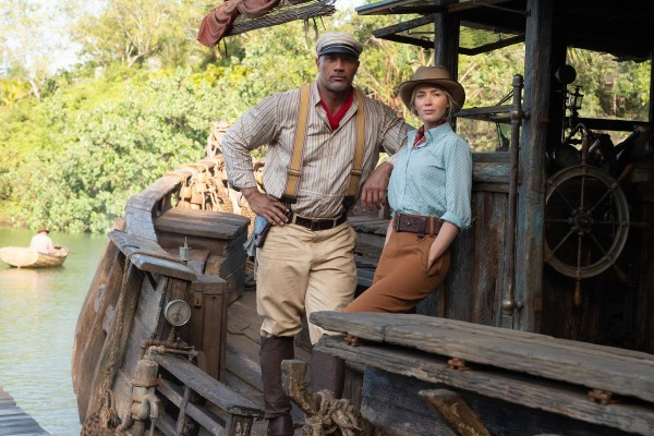 Dwayne Johnson (Frank), Emily Blunt (Lily Houghton)