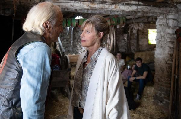 Patrick Chesnais (Papy), Chantal Ladesou (Mamie Aurore)