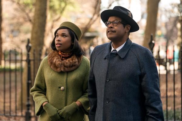 Jennifer Hudson (Aretha Franklin), Forest Whitaker (CL Franklin)