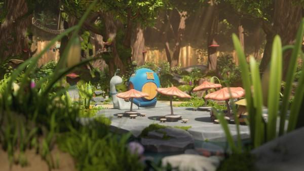Mush-Mush et le petit monde de la forêt - extrait
