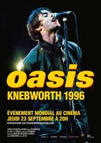 Oasis Knebworth 1996 - affiche