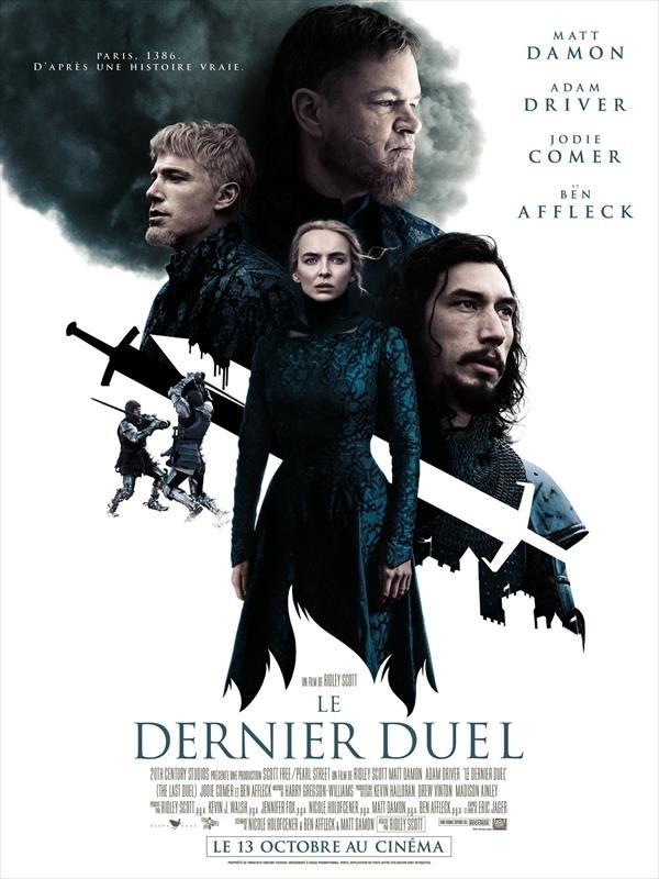 Le Dernier duel, affiche