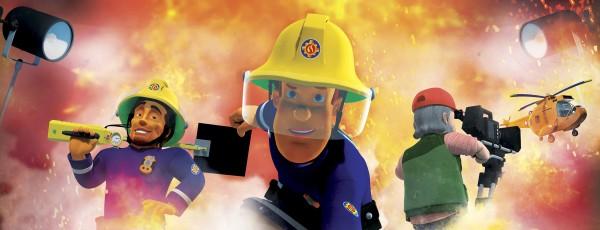 Sam le pompier & le mystérieux Super-Héros, extrait