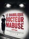 Le Diabolique Docteur Mabuse, Affiche version restaurée
