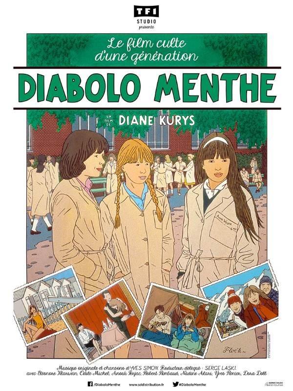Diabolo menthe, Affiche version restaurée