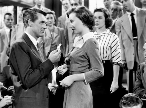 Cary Grant (Noah Praetorius), Jeanne Crain (Deborah Higgins)