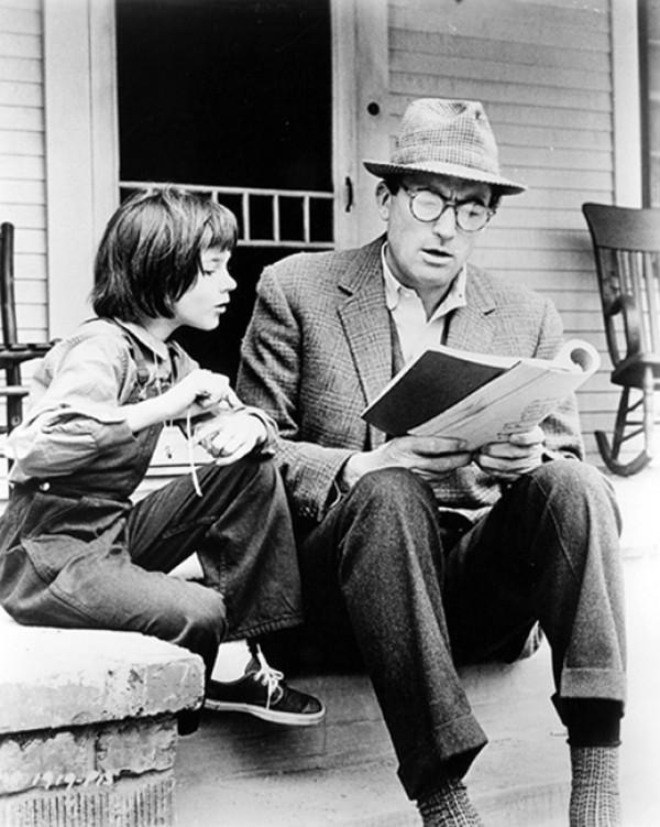 Mary Badham, Gregory Peck
