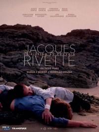 """""""Jacques Rivette, la Fiction au pouvoir en trois films"""", affiche"""