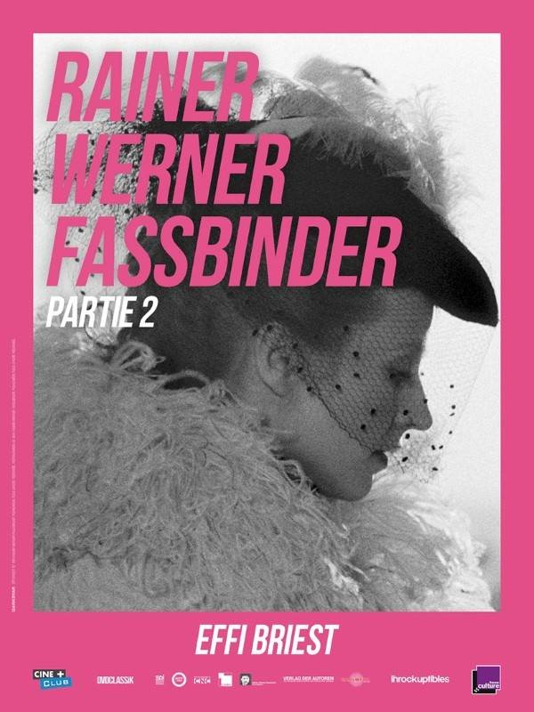 Effi Briest, affiche Rétrospective Rainer Werner Fassbinder, partie 2