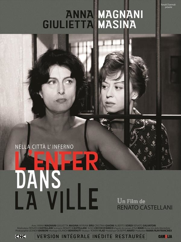 L'Enfer dans la ville, affiche version restaurée