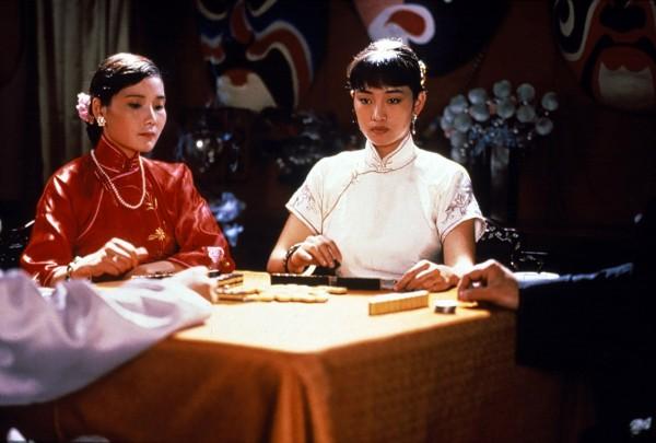 Gong Li (à droite) et personnage
