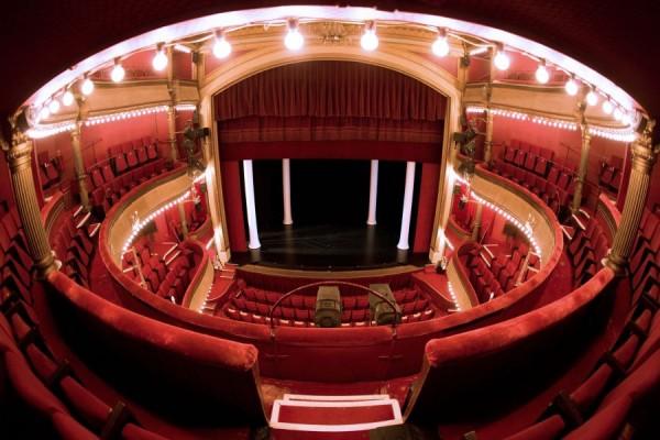 Théâtre des Bouffes Parisiens : vue des spectateurs