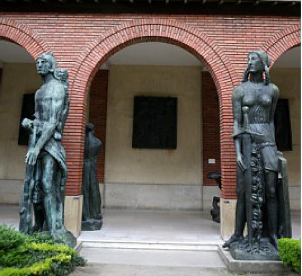 Musée Bourdelle : entrée