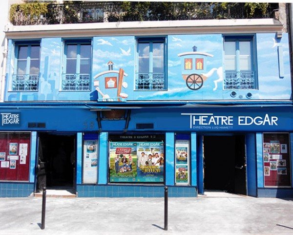 Cafe Theatre Paris  Decembre