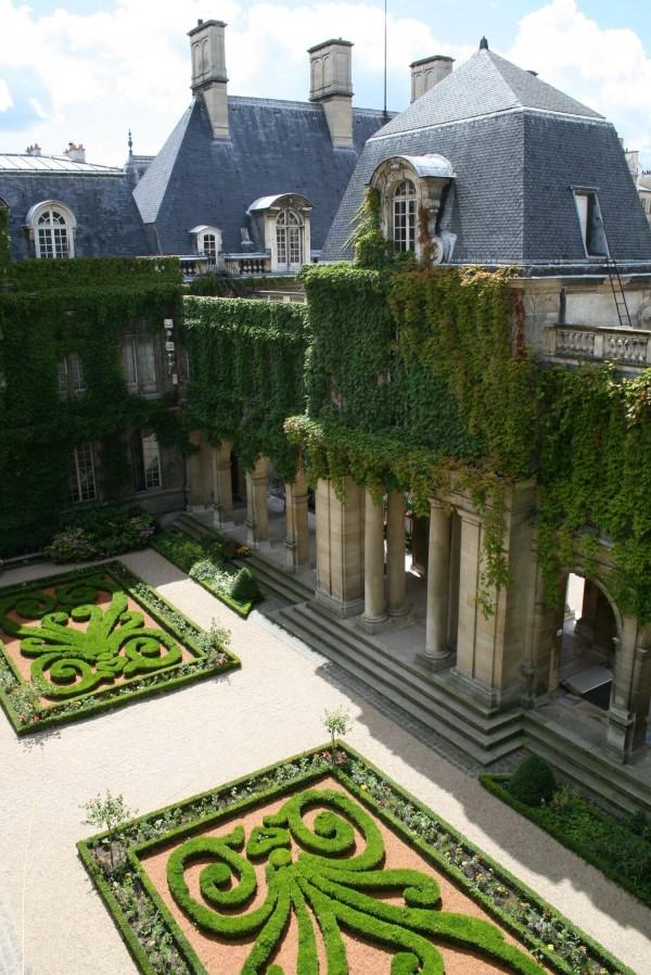 Jardins du musée Carnavalet