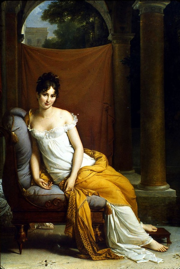 Musée Carnavalet - Portrait de Juliette Récamier