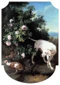 La Chienne blanche - 1713 Huile sur toile, 150 x 107 cm inv. 63.148.3