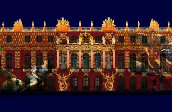 Château de Versailles - Projections de nuit