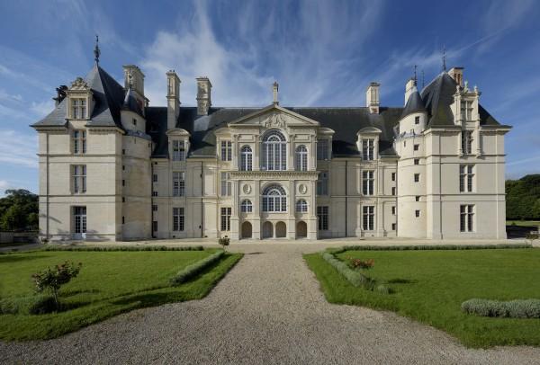 Façade Nord du Château d'Ecouen