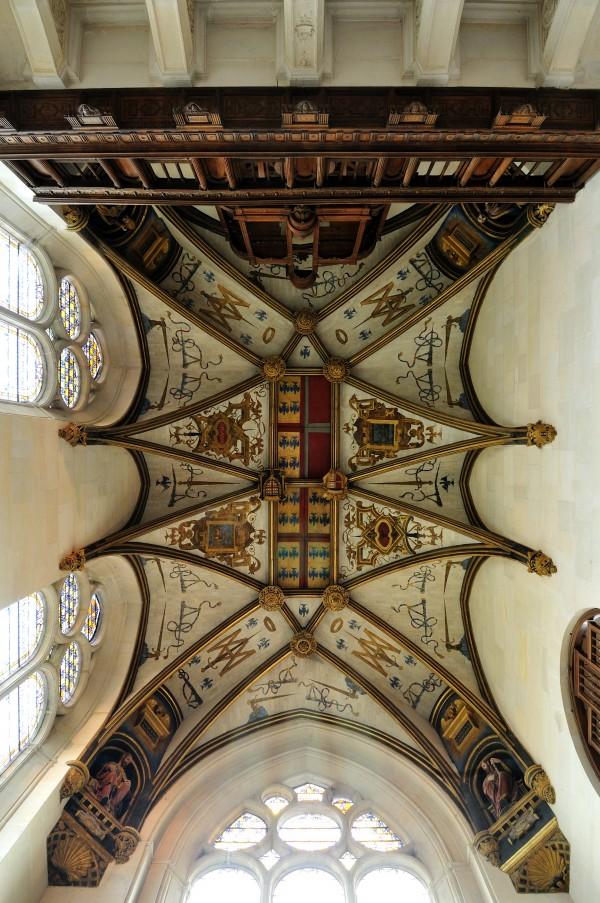 Voûte de la chapelle du Château d'Ecouen