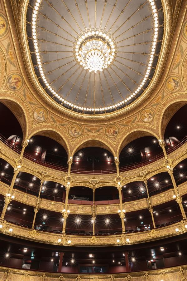 Théâtre du Châtelet - Plafond de la salle principale