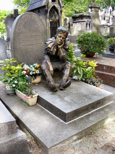 Tombe de Vaslav Nijinsky