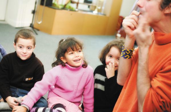 Ateliers d'eveil musical enfants