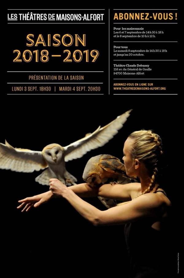 Théâtre Claude-Debussy - Saison 2018-2019
