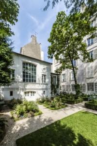 Musée Delacroix, vue depuis le jardin