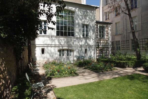 Jardin du musée Eugene Delacroix