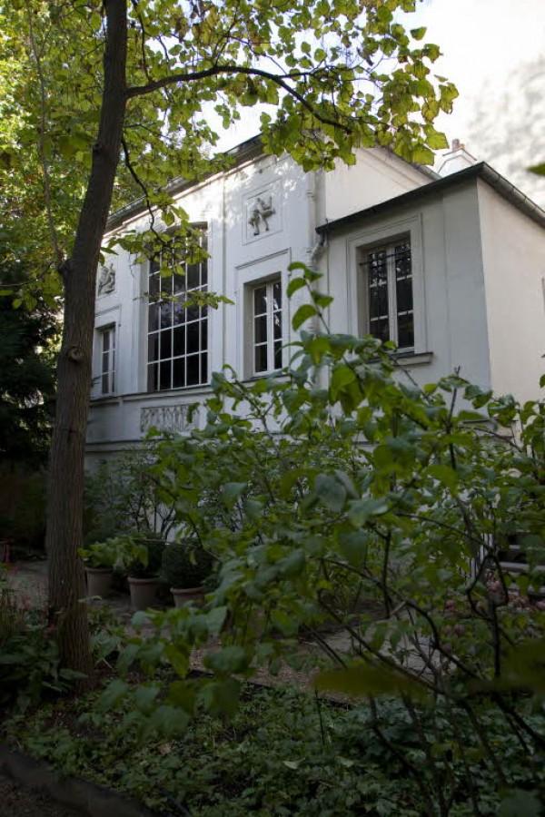 Vue du musée Delacroix
