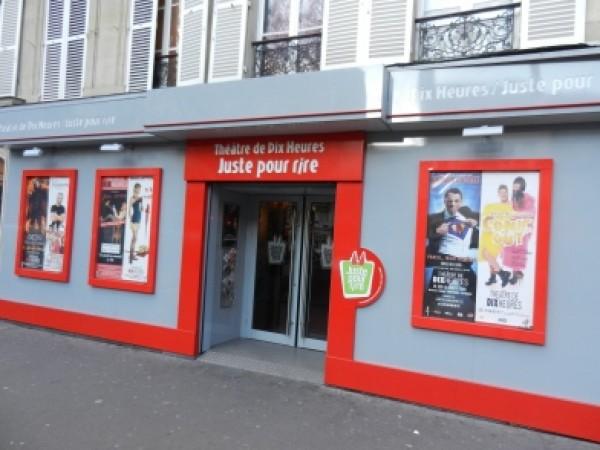 Théâtre de Dix Heures : façade