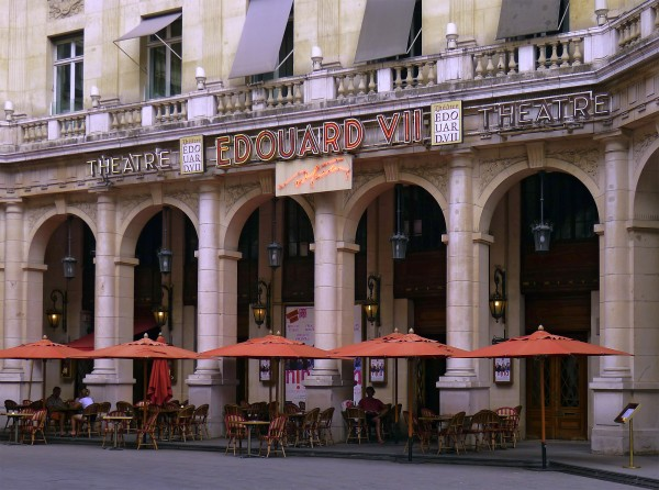 Théâtre Édouard VII : façade