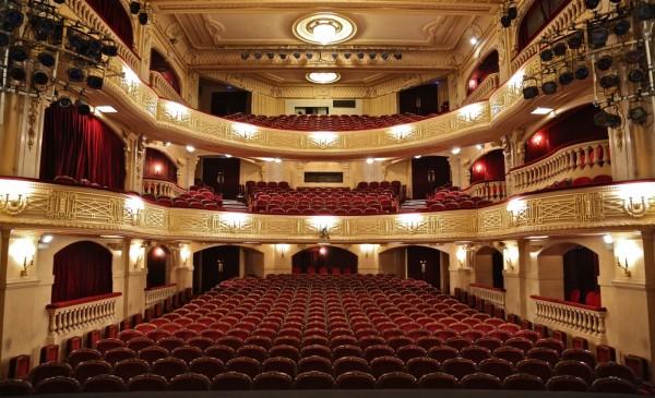 Théâtre Édouard VII : salle
