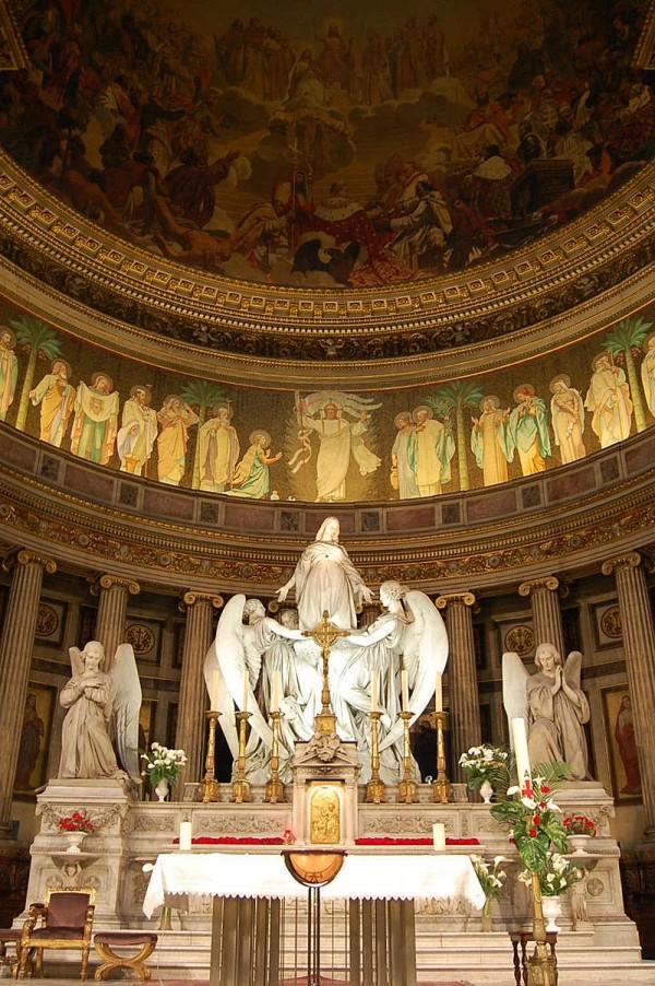 Intérieur de l'Église de la Madeleine
