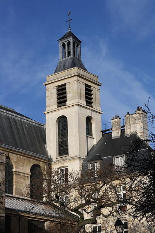 L'église Notre-Dame-des-Blancs-Manteaux
