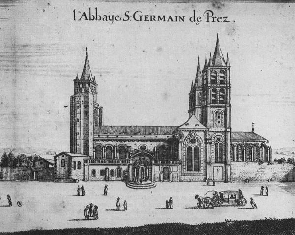 L'Église Saint-Germain-des-Prés au XVIIe siècle