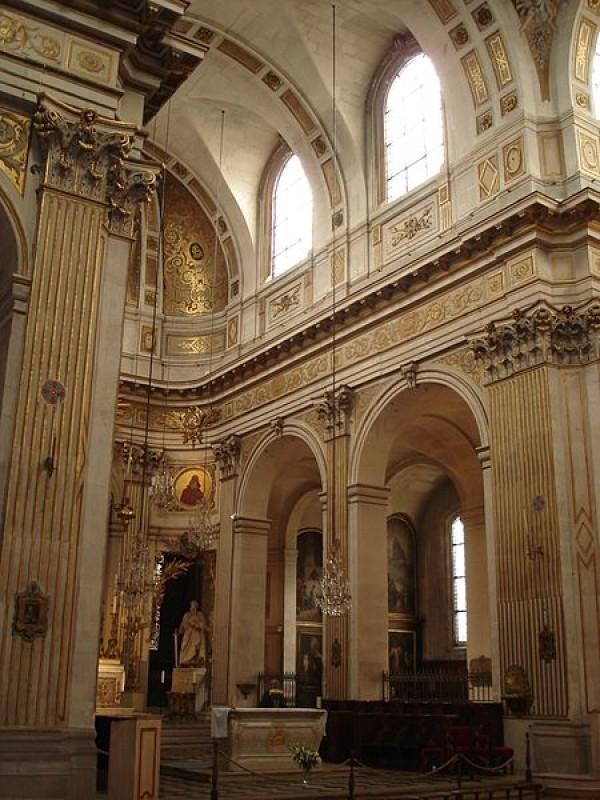 L'intérieur de l'église Saint-Louis-en-l'île
