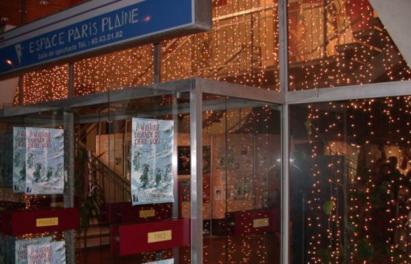 Espace Paris-Plaine : entrée