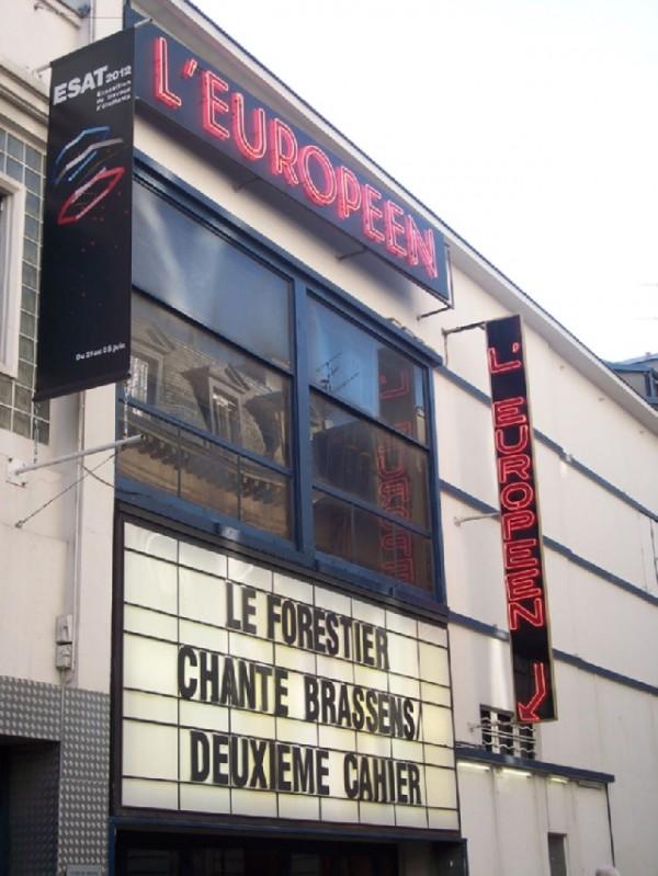 L'Européen : façade