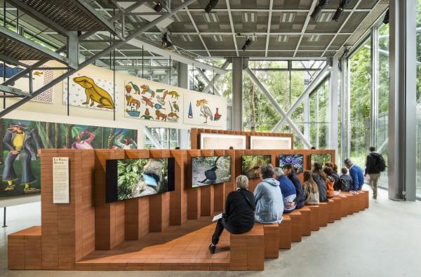 Intérieur Fondation Cartier