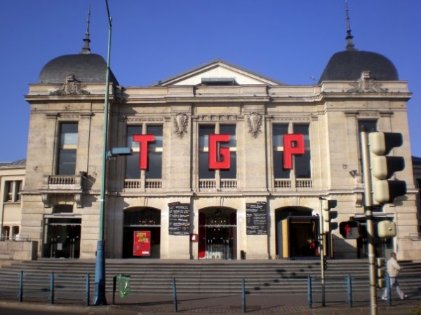 Théâtre Gérard-Philipe : façade