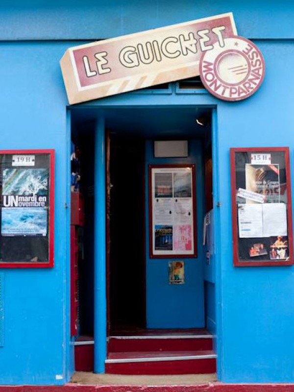 Guichet-Montparnasse : entrée