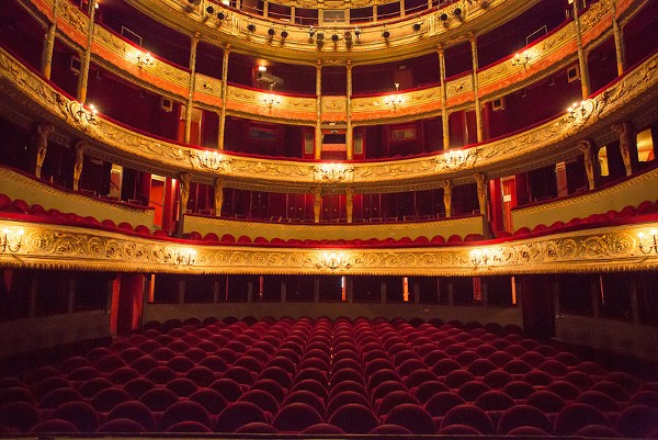 Th tre du gymnase paris 10e l 39 officiel des spectacles - Plan salle theatre porte saint martin ...