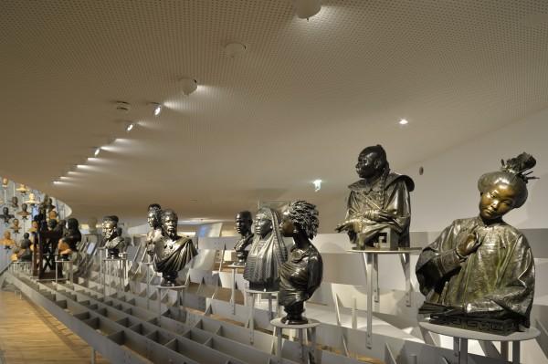 La Galerie de l'Homme - Partie 1 - Envolée de bustes - les bronzes de Cordier