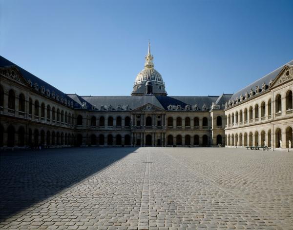Cour d'honneur - Hôtel National des Invalides